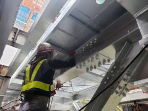 鋼構造物塗装部門の施工範囲を拡張