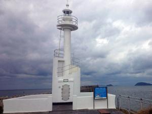 旧串木野灯台改修工事